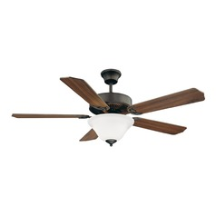 Savoy House Lighting English Bronze Ceiling Fan with Light