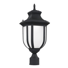 Sea Gull Lighting Childress Black LED Post Light