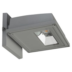 Nuvo Gray LED Wall Pack 3000K 2884LM 120-277v 30W