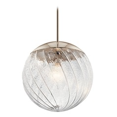 Kichler Lighting Amaryliss Polished Nickel Pendant Light