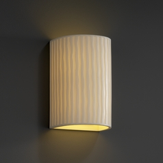 Justice Design Group Porcelina Collection Sconce