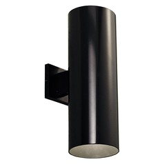 Progress Lighting Cylinder Black LED Outdoor Wall Light Accessory