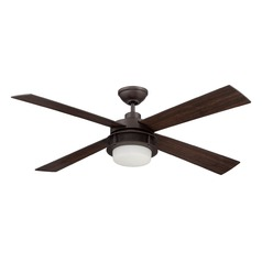 Craftmade Lighting Urban Breeze Espresso Ceiling Fan with Light