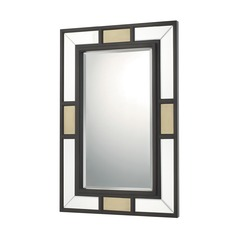 Capital Lighting Old Bronze and Aged Brass  Mirror 36x24