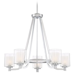 Quoizel Lighting Kolt Polished Chrome Chandelier
