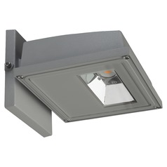 Nuvo Gray LED Wall Pack 4000K 3339LM 120-277v 30W