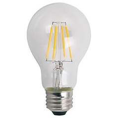 A19 Medium Base LED Filament Bulb 2700K 810LM 60W Equivalent JA8/T20