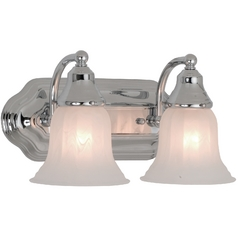 Design Classics Lighting Two-Light Bathroom Vanity Light 568-26