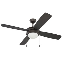 Craftmade Lighting Laval Espresso Ceiling Fan with Light