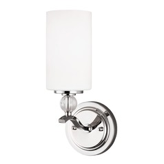 Sea Gull Lighting Englehorn Chrome LED Sconce