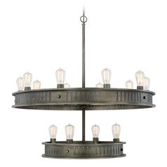 Capital Lighting Nash Gunmetal Chandelier