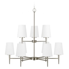 Sea Gull Lighting Driscoll Brushed Nickel Chandelier