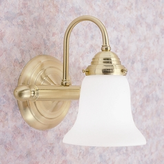 Livex Lighting Satin Brass Sconce