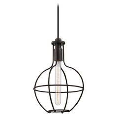 Colebrook 1 Light Mini-Pendant Light - Old Bronze