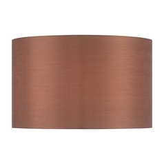 Copper Bronze Drum Lamp Shade with Spider Assembly