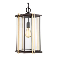 Quoizel Lighting Goldenrod Western Bronze Outdoor Hanging Light