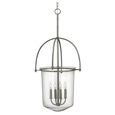 Hinkley Lighting Clancy Brushed Nickel Mini-Chandelier