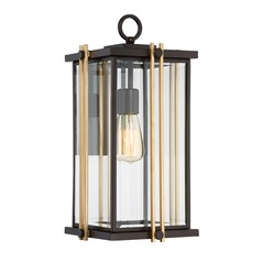 Quoizel Lighting Goldenrod Western Bronze Outdoor Wall Light