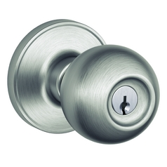 Schlage Round Knob Entrance Set SH J54-CNA-630 16-229 LATCH