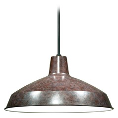 Barn Light Pendant Bronze 16-inch Wide by Nuvo Lighting