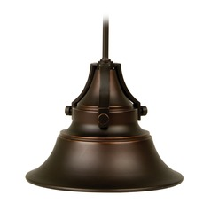 Craftmade Lighting Union Oiled Bronze Gilded Outdoor Hanging Light