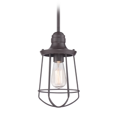 Quoizel Marine Western Bronze Mini-Pendant Light