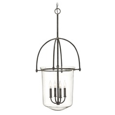 Hinkley Lighting Clancy Aged Zinc Mini-Chandelier
