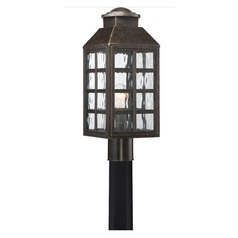Quoizel Lighting Miles Imperial Bronze Post Light