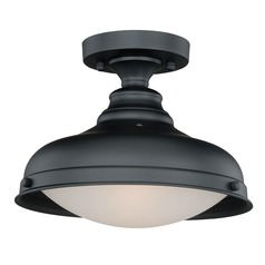 Keenan Oil Rubbed Bronze Semi-Flushmount Light by Vaxcel Lighting