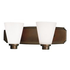 Dolan Designs Lighting Two-Light Bathroom Light 3402-62