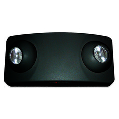 Emergency Lighting Unit - Black Finish