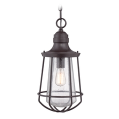 Quoizel Lighting Marine Western Bronze Outdoor Hanging Light