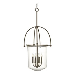 Hinkley Clancy 4-Light Pendant in Buckeye Bronze