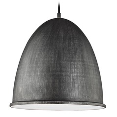 Sea Gull Lighting Hudson Street Stardust LED Pendant Light with Bowl / Dome Shade