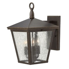 Hinkley Lighting Trellis Regency Bronze Outdoor Wall Light