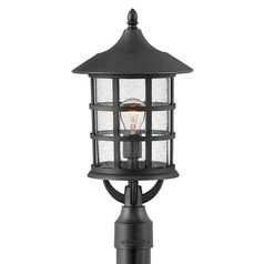 Hinkley Lighting Freeport Textured Black Post Light