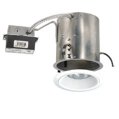 6-inch Recessed Remodel LED Lighting Kit with White Trim