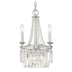 Quoizel Lighting Miramar Polished Chrome Mini-Chandelier