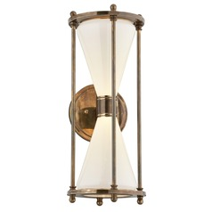 Troy Lighting Magellan Historic Brass LED Outdoor Wall Light