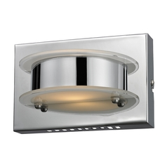 Modern LED Sconce Wall Light in Chrome Finish