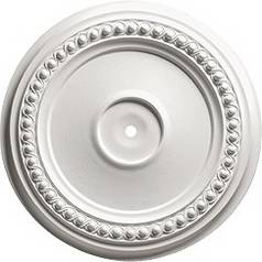 Paintable Decorative Ceiling Medallion - 24-3/8-Inches Wide
