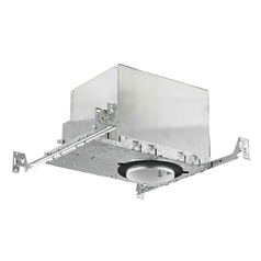 4-Inch New Construction GU10 Recessed Can Light IC and Airtight Rated