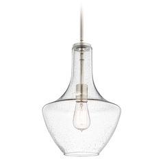 Kichler Lighting Everly Brushed Nickel Pendant Light