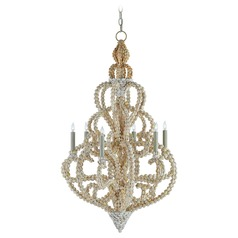 Currey and Company Corniche Natural Chandelier