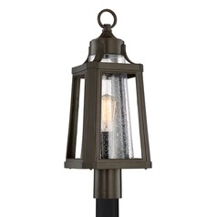 Quoizel Lighting Lighthouse Palladian Bronze Post Light