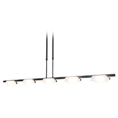 Access Lighting Nido Oil Rubbed Bronze Island Light with Oval Shade