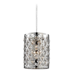 Attractive Crystal Mini Pendant Light