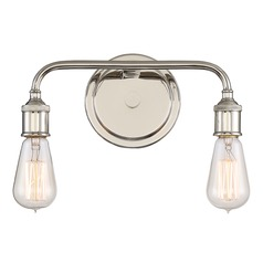 Quoizel Lighting Menlo Imperial Silver Bathroom Light