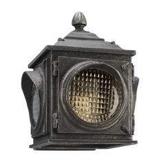 Troy Lighting Main Street Aged Pewter LED Outdoor Wall Light