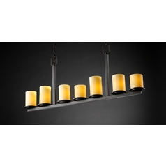 Justice Design Group Candlearia Collection Island Light